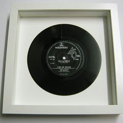 "The Beatles - ""I Am The Walrus"" Framed Record"