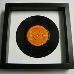 "David Bowie - ""Be My Wife"" Framed Record"