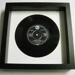 "Elvis Presely - ""Wooden Heart"" Framed Record"