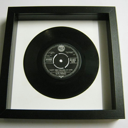 "Elvis Presely - ""Can't Help Falling In Love"" Framed Record"
