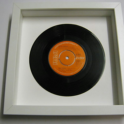 "Elvis Presely - ""Way Down"" Framed Record"