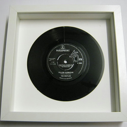 "The Beatles - ""Yellow Submarine"" Framed Record"