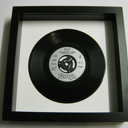 "The Boomtown Rats - ""Rat Trap"" Framed Record"