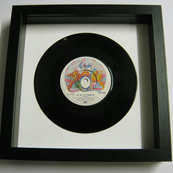 "Queen - ""We Are The Champions"" Framed Record"