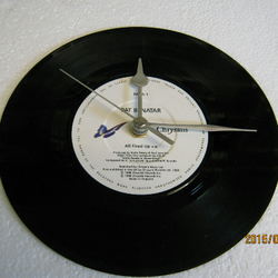 "Pat Benatar - ""All Fired Up"" 7"" Vinyl Record Wall Clock"