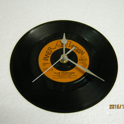 "Wham - ""Club Tropicana"" Vinyl Record Wall Clock"