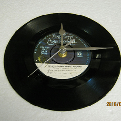"Pink Floyd - ""Another Brick In The Wall"" 7"" Vinyl Record Wall Clock"