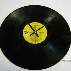 "The Rolling Stones - ""Exile On Main Street"" 12"" Vinyl Record Wall Clock"