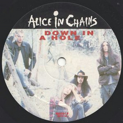 "Alice In Chains - ""Down In A Hole"" Vinyl Record Wall Clock"