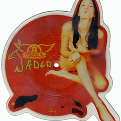 "Aerosmith - ""Jaded"" Vinyl Record Wall Clock"