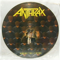 "Anthrax - ""Among The Living"" Vinyl Record Wall Clock"