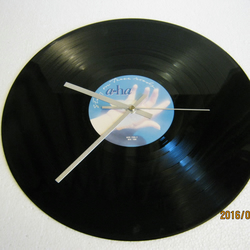 "A-HA - ""Stay On These Roads"" Vinyl Record Wall Clock"