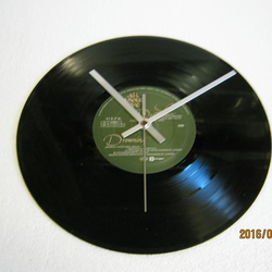 "All About Eve - ""December"" Vinyl Record Wall Clock"