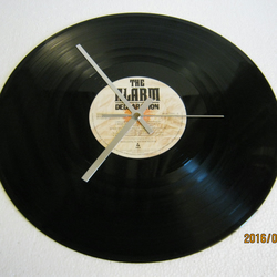 "The Alarm - ""Declaration"" Vinyl Record Wall Clock"