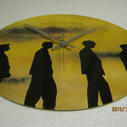 "Echo And The Bunnymen - ""Songs To Learn And Sing"" Vinyl Record Sleeve Wall Clock"