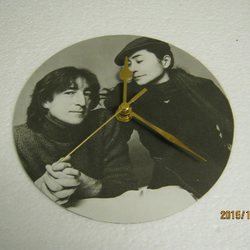 "John Lennon - ""Woman"" Record Sleeve Wall Clock"
