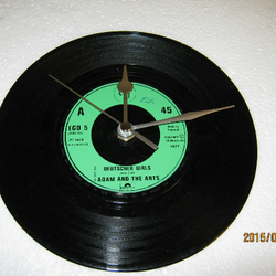 "Adam And The Ants - ""Deutscher Girls"" Record Wall Clock"