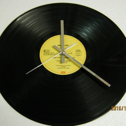 "Marillion - ""Script For A Jester's Tear"" Record Wall Clock"