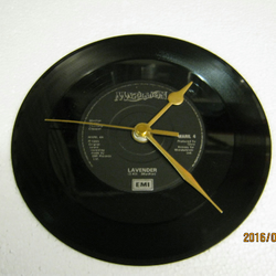 "Marillion - ""Lavender"" Record Wall Clock"