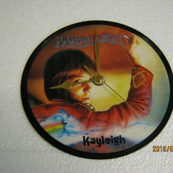 "Marillion - ""Kayleigh"" Record Picture Disc Wall Clock"