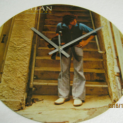 "Bob Dylan - ""Street Legal"" Record Sleeve Wall Clock"