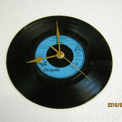 "Ultravox - ""Passing Strangers"" Record Wall Clock"