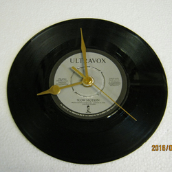 "Ultravox - ""Slow Motion"" Record Wall Clock"