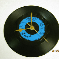 "Ultravox - ""Dancing With Tears In My Eyes"" Record Wall Clock"