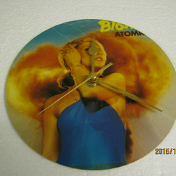 "Blondie - ""Atomic"" Record Sleeve Wall Clock"