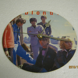 "Blondie - ""Union City Blue"" Record Sleeve Wall Clock"
