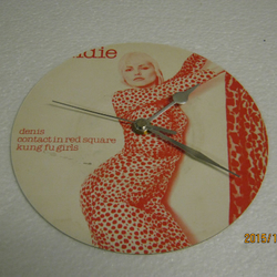 "Blondie - ""Denis"" Record Sleeve Wall Clock"