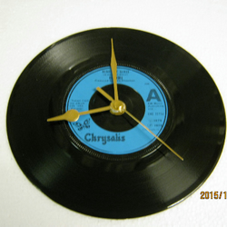 "Blondie - ""Heart Of Glass"" Record Wall Clock"