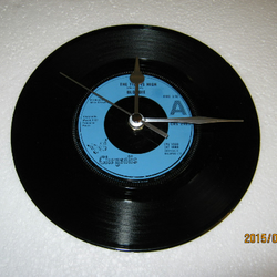 "Blondie - ""The Tide Is High"" Record Wall Clock"