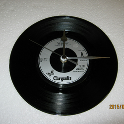 "Blondie - ""Atomic"" Record Wall Clock"