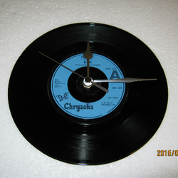 "Blondie - ""Sunday Girl"" Record Wall Clock"