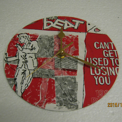 "The Beat - ""Can't Get Used To Losing You"" Record Sleeve Wall Clock"