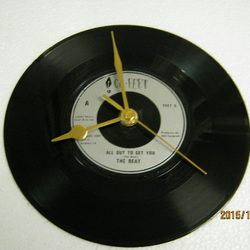 "The Beat - ""All Out To Get You"" Record Wall Clock"