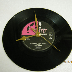 "The Beat - ""Doors Of Your Heart"" Record Wall Clock"