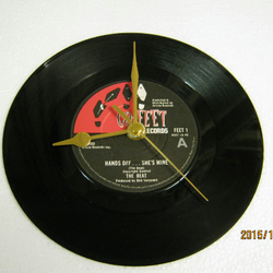 "The Beat - ""Hands Off...She's Mine"" Record Wall Clock"