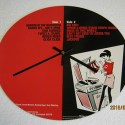 "The Beat - ""I Just Can't Stop It"" Record Sleeve Wall Clock"