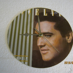 "Elvis Presley - ""I Can Help"" Record Sleeve Wall Clock"