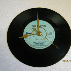 "The Smiths - ""What Difference Does It Make?"" Record Wall Clock"