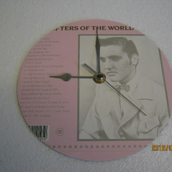 "The Smiths - ""Shoplifters Of The World Unite"" Record Sleeve Wall Clock"