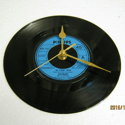 "Greengage - ""20 Flight Rock"" Record Wall Clock"