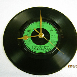"Eddy Grant - ""Living On The Frontline"" Record Wall Clock"