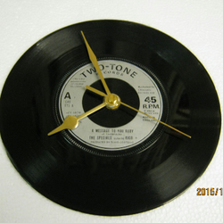 "The Specials - ""A Message To You Rudy - Nite Klub"" Record Wall Clock"