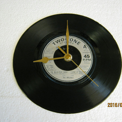 "The Specials - ""Too Much Too Young - Longshot Kick The Bucket"" Record Wall Clock"