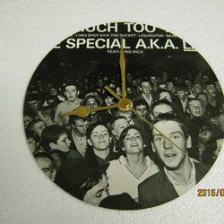 "The Specials - ""Too Much Too Young - Kick The Bucket"" Record Sleeve Wall Clock"