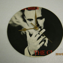 "The Clash - ""Bankrobber"" Record Sleeve Wall Clock"