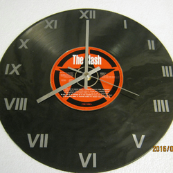 "The Clash - ""The Singles"" CD & Record Wall Clock"